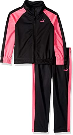 PUMA Little Girls Track Set