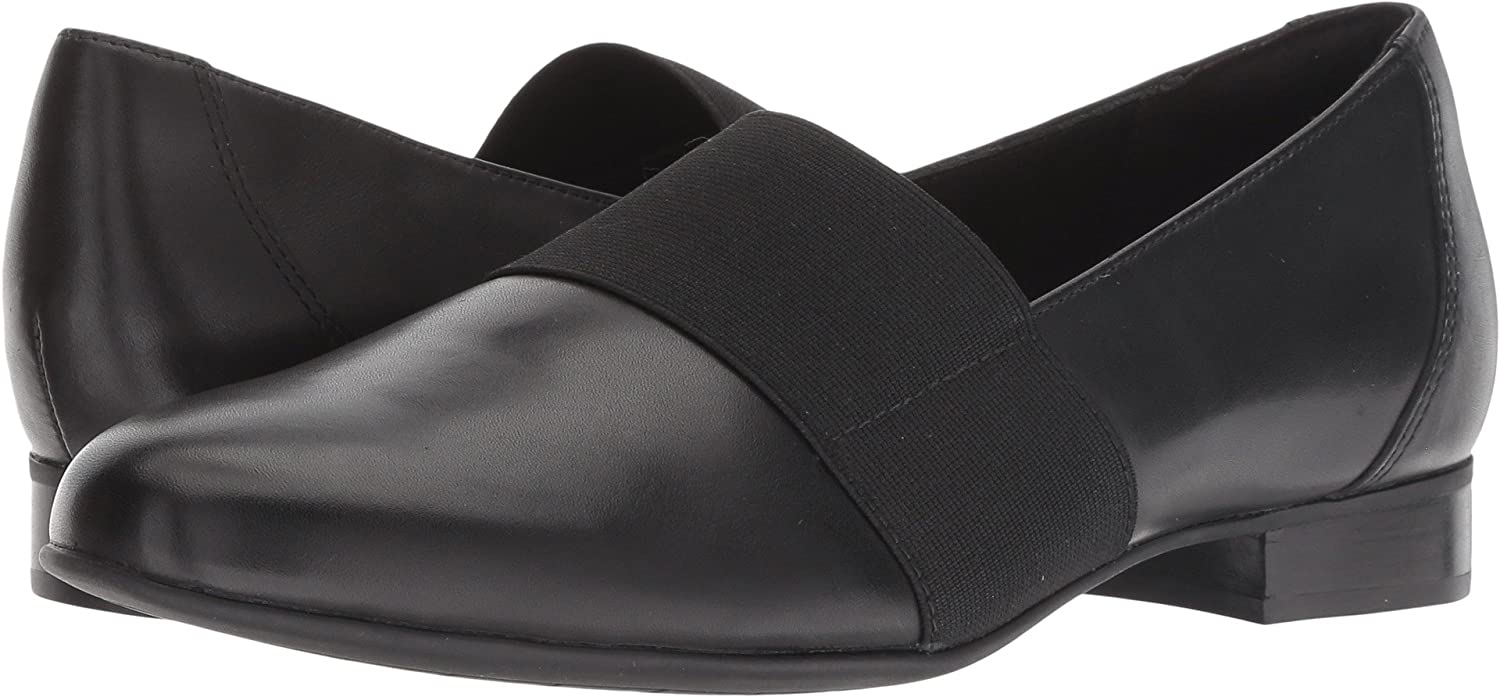 64474ed5404d1 Amazon.com | CLARKS Women's Un Blush Lo Black Leather 6 D US | Walking