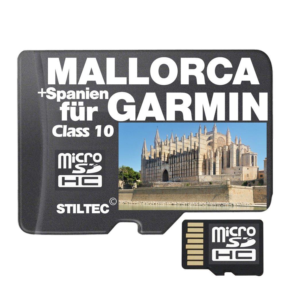 Topo Karte Mallorca + Spanien für Garmin Edge GPSmap Montana Etrex Dakota Oregon Farbeado Astro  ORIGINAL von STILTEC ©