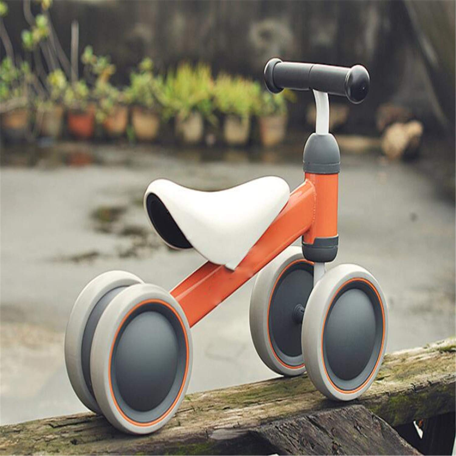 BABIFIS Baby Balance Bike Bicycle, Baby Walker, Baby Scooter 4 Ruote Toddler Toy Primo Regalo di Compleanno, 3 Colorei