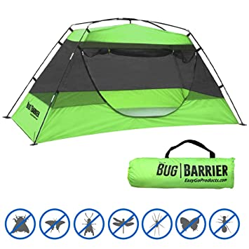 BUG BARRIER - MOSQUITO BUG TENT - INDOOR OUTDOOR POP UP MOSQUITO NET CANOPY u2013 86  sc 1 st  Amazon.com & Amazon.com: BUG BARRIER - MOSQUITO BUG TENT - INDOOR OUTDOOR POP ...