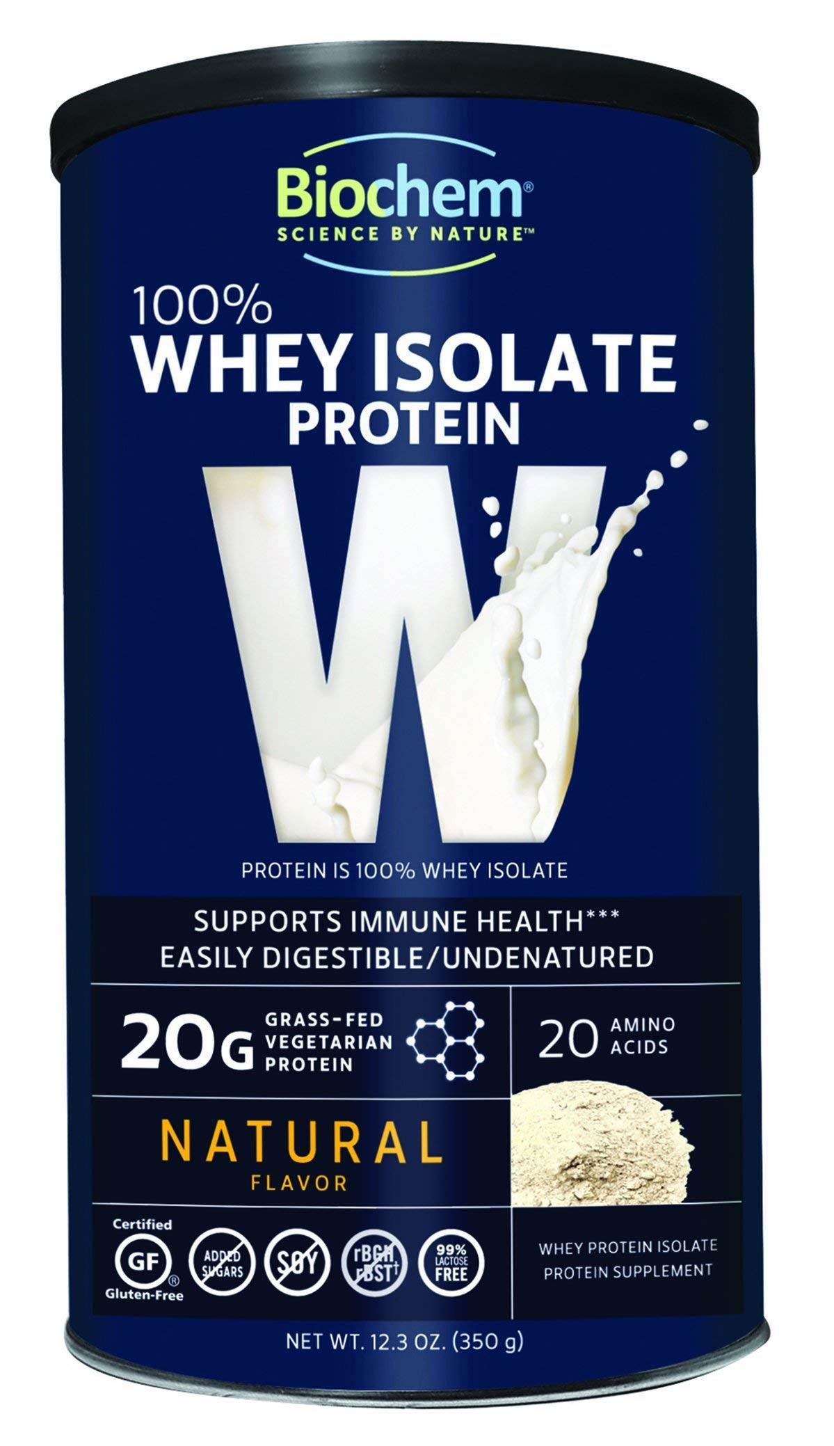 Biochem Ultimate Lo Carb Whey, Natural, 12.3-Ounce Can