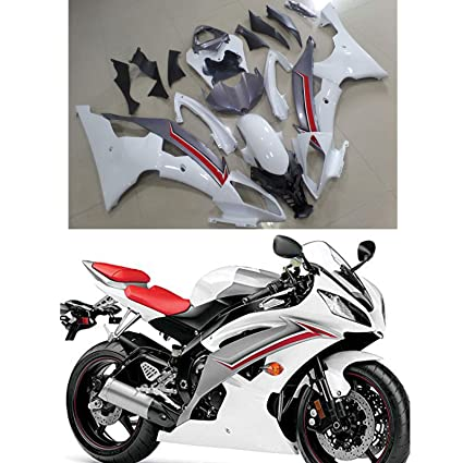 Amazon com: Moto Onfire Fairings Kit Fit for Yamaha R600 YZF