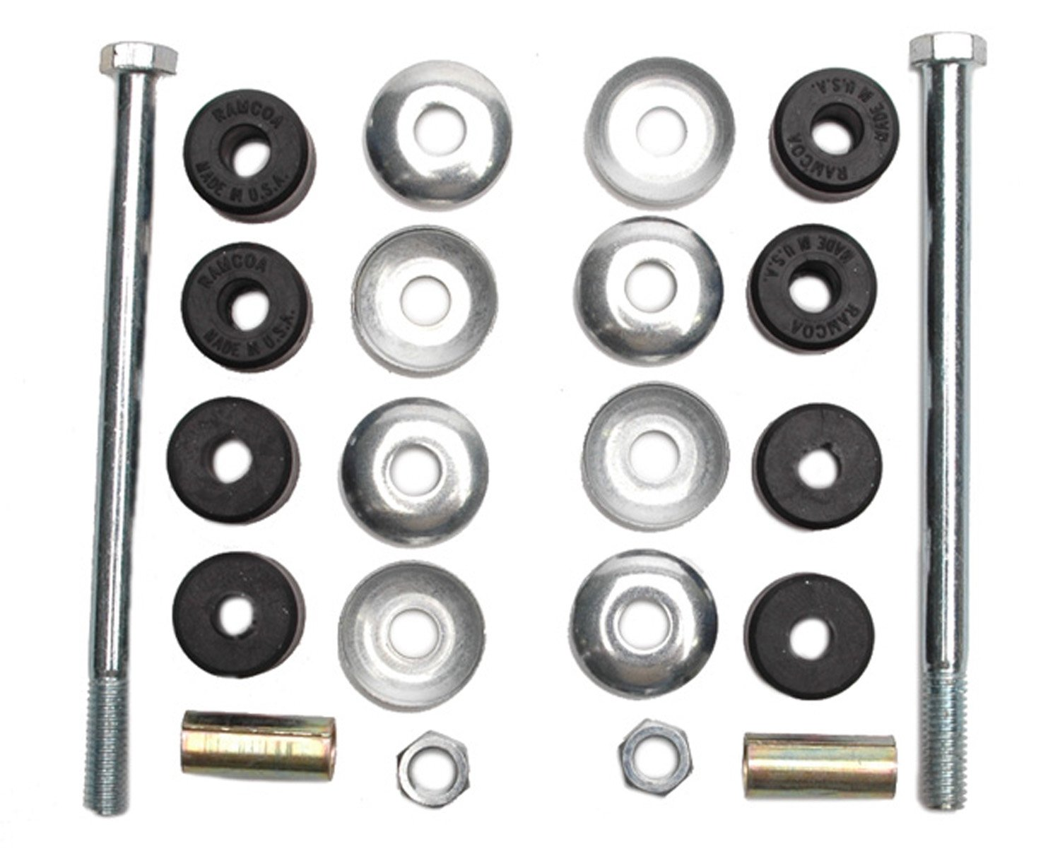 ACDelco 45G0191 Professional Suspension Stabilizer Bar Link Kit with Hardware