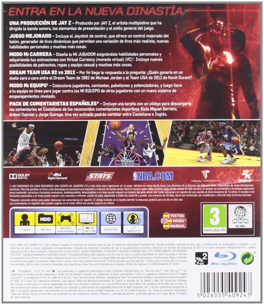 NBA 2K 2013: sony psp: Amazon.es: Videojuegos