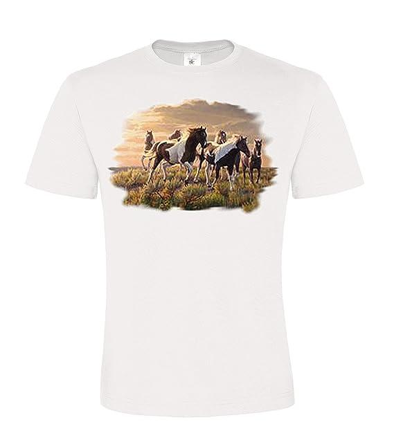 DarkArt-Designs Paints - Camiseta de Caballos para niños y Adultos ...