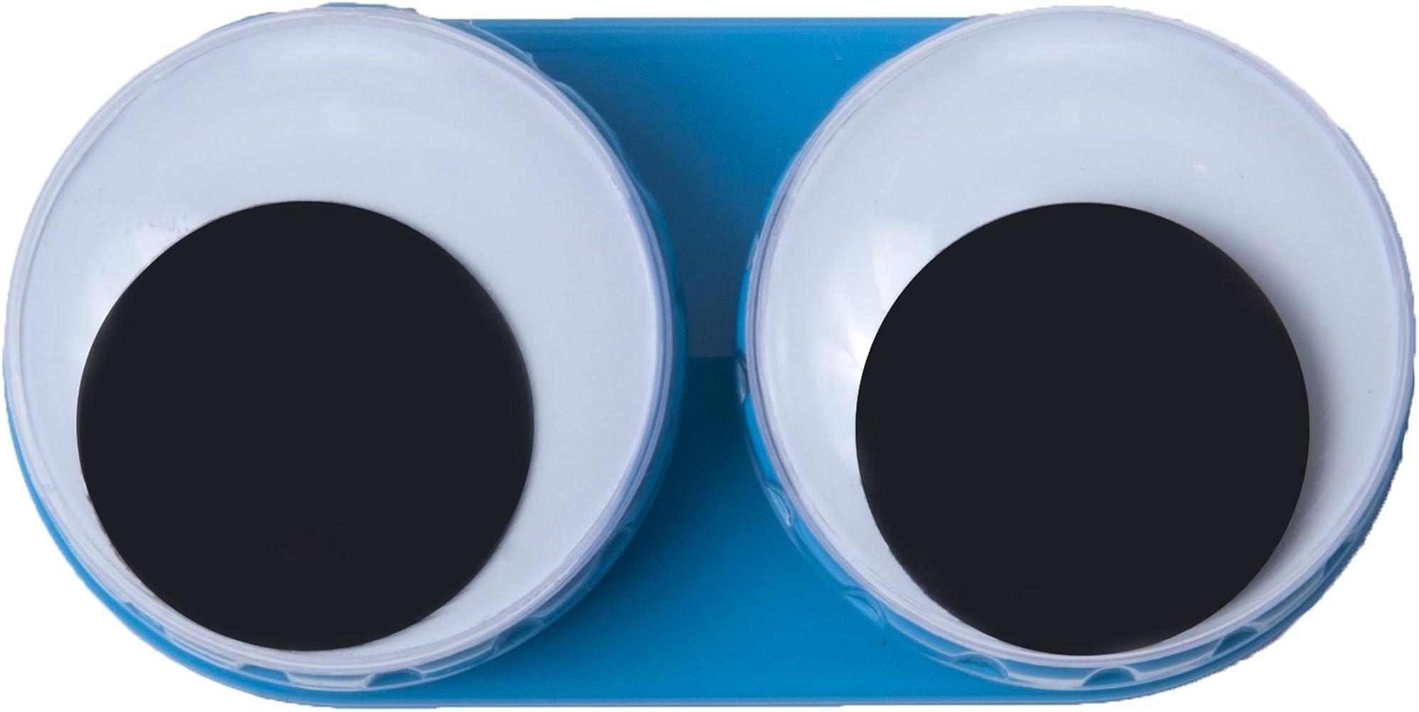 Estuche para lentillas GOOGLE ojos - Colour azul: Amazon.es: Ropa y accesorios
