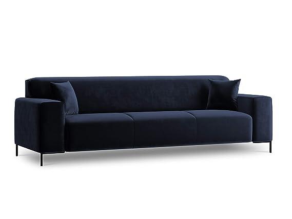 Cosmopolitan Design - Sofá de Terciopelo, 3 plazas, Color ...