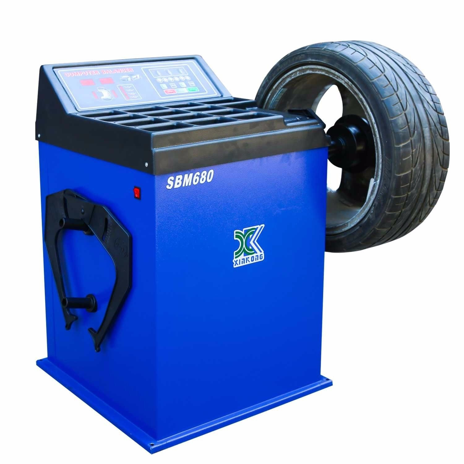 CHIEN RONG 1.5 HP Automatic Tire Changer Wheel Changers Machine Rim Balancer Combo 960 680//12 Month Warranty