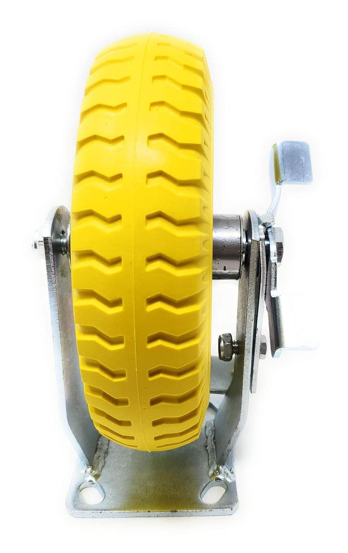 ruedas giratorias resistentes SFeng Ruedas giratorias accesorios para caja de almacenamiento ruedas de carril fijas ruedas peque/ñas de pl/ástico unidireccional ruedas direccionales pegables