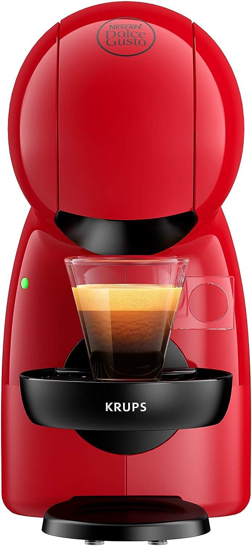 Krups Piccolo KP1A05 - Cafetera cápsulas Nestlé Dolce Gusto de 15 bares de presión y 1500 W de potencia con depósito de 0,8 L, monodosis multibebidas frías y calientes, manual: Amazon.es: Hogar