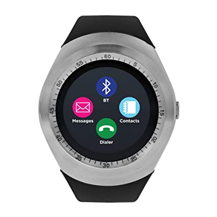 Itouch Curve Smart Watch Screen Bluetooth New ITR4360 Silver/Black