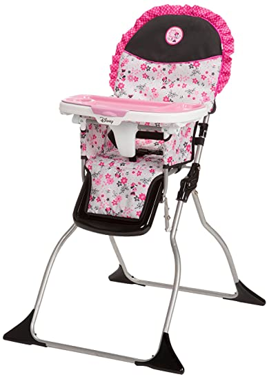 Gentil Disney Simple Fold Plus High Chair, Garden Delight, Minnie