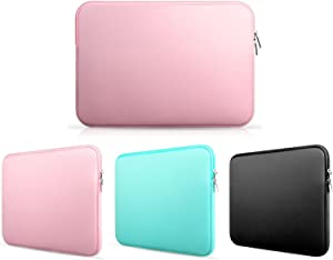 Frog-tech 11-11.6 InchNeoprene Laptop Notebook Ultrabook Sleeve Case for MacBook Pro Air and Other Brand Laptop 11 inch Laptop - Pink