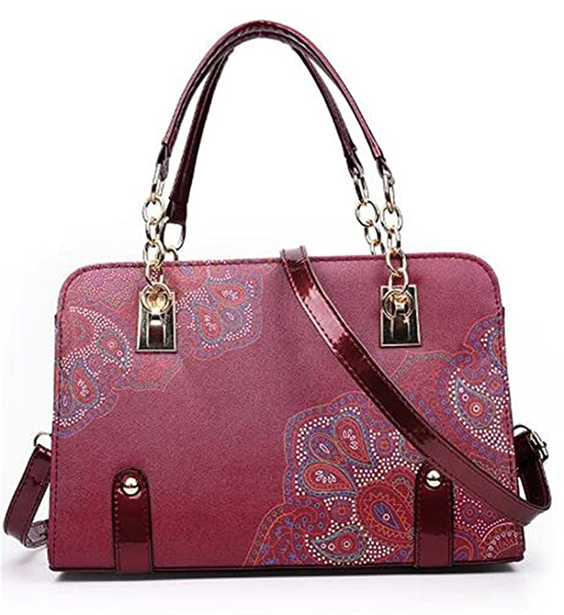 Shining4U New luxury women Shoulder bag Flower Leather bag handbag women famous brand designer ladies hand bags sac a main femme de marque Chic BeigeOne ...