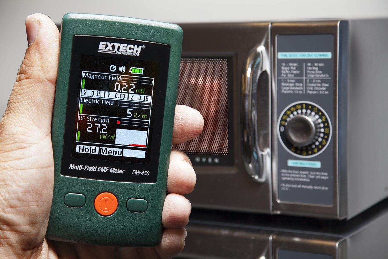 Green Extech EMF450 Appareil de Mesure de champs /électriques et magn/étiques /à plusieurs champs