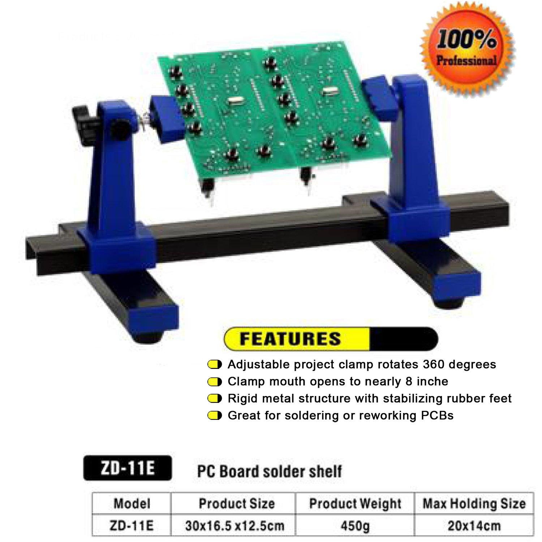 Elenco Adjustable Circuit Board And Soldering Holder Rcuit Industrial Scientific