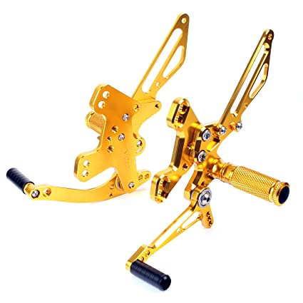tarazon ajustable Commandes reculées rearset descansa pies ...