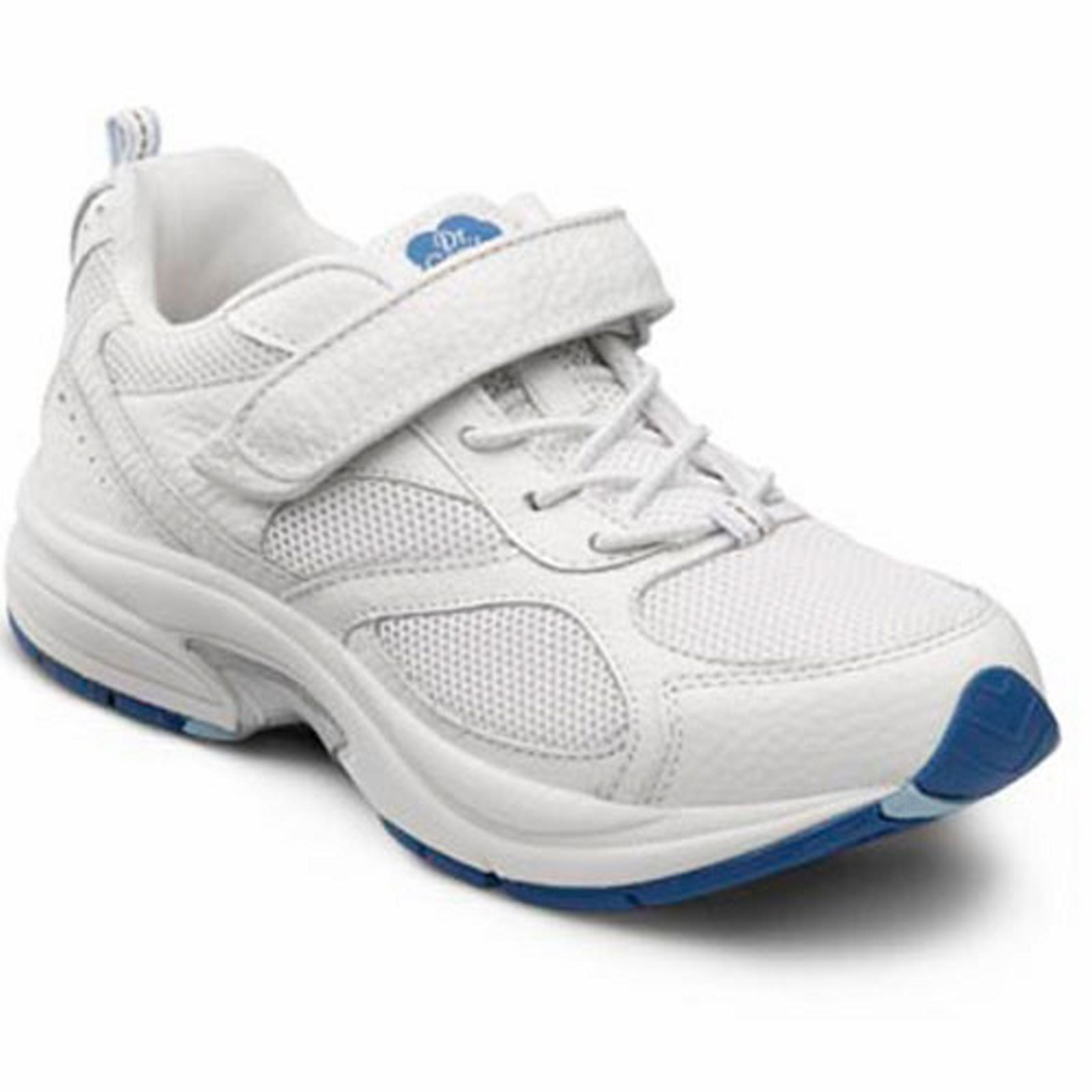 Dr. Comfort Victory Women's Therapeutic Extra Depth Athletic Shoe: White 9.5 Medium (A-B) Lace