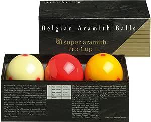 Aramith 61.5 mm/Carambole Billar/Bolas de Billar Carambola Carom ...
