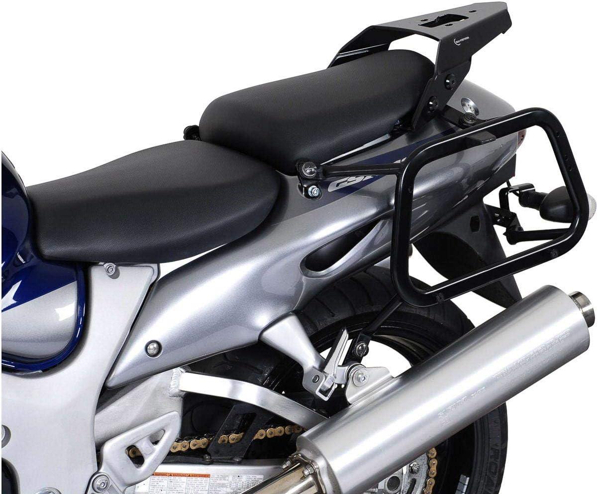 Sw Motech Evo Kofferträger Quick Lock Funktion Schwarz Für Suzuki Gsx 1300 R Hayabusa 99 07 Auto