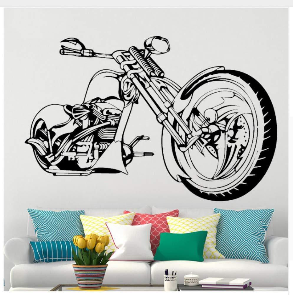 Moto Wall Art Sticker Motocicleta Poster para Niño Dormitorio ...