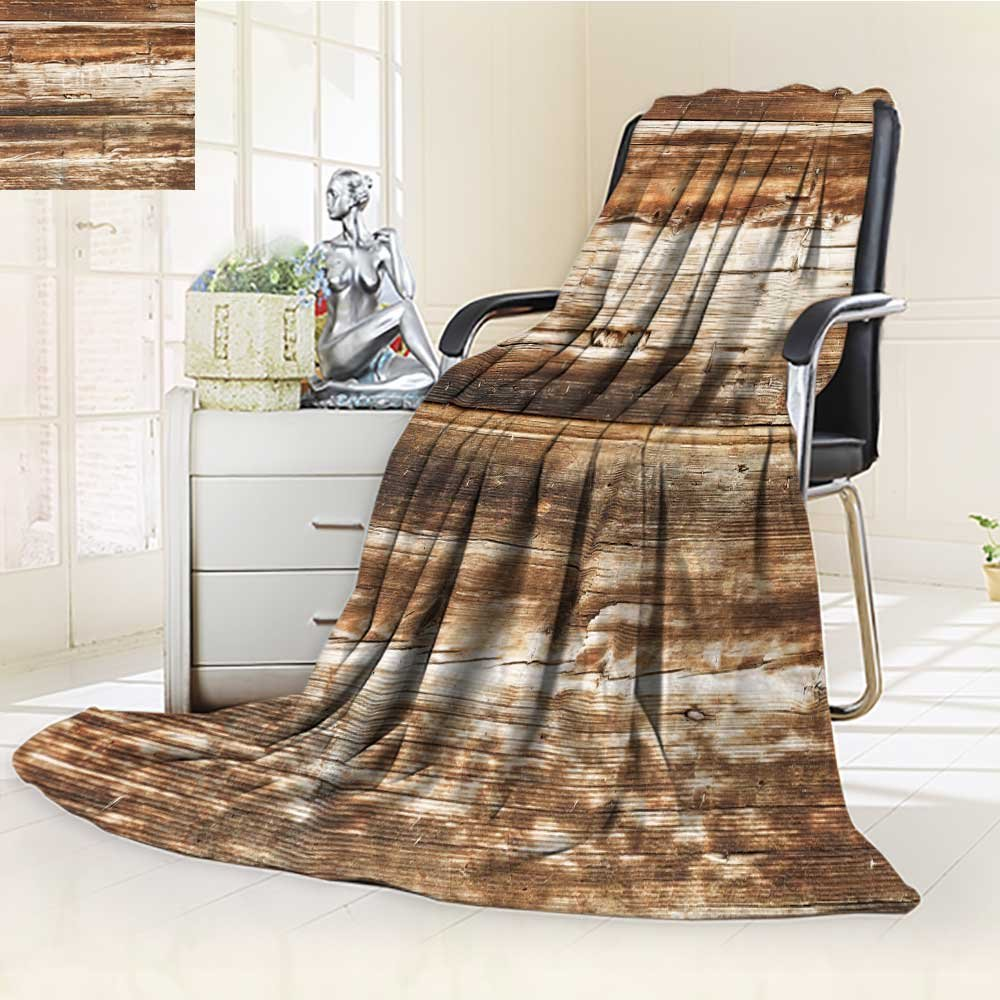 Microfiber Fleece Comfy All Season Super Soft Cozy Blanket depositphotos stock photo wood plank for Bed Couch and Gift Blankets(90''x 70'')