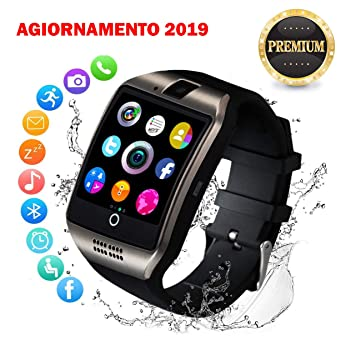 De Bello - Bluetooth Smartwatch con cámara, Smart Watch ...