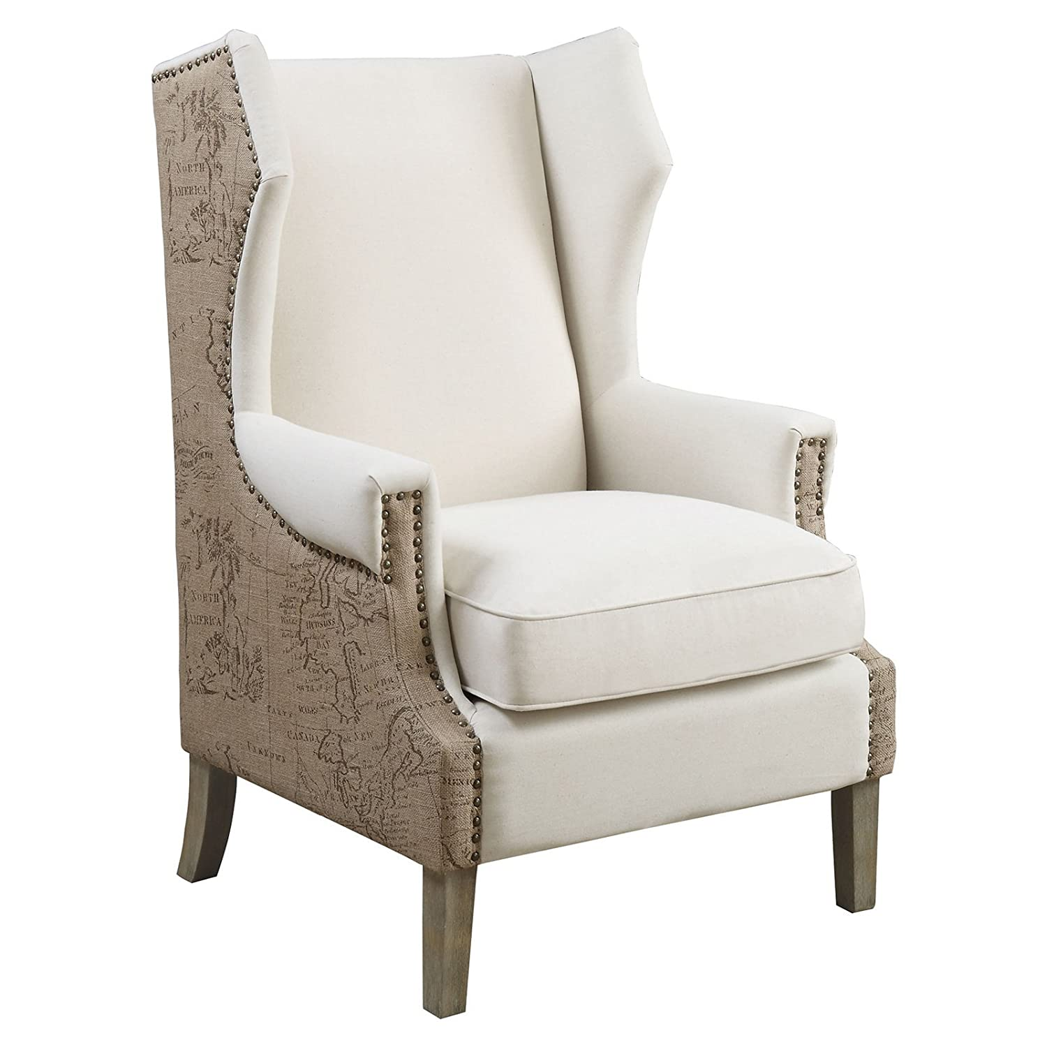 """Amazon Coaster Accent Seating 32 75"""" Accent Chair"""