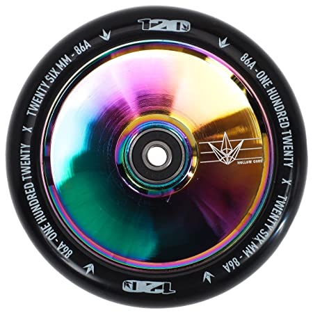 Envy Scooters Hollow Core Wheels 120mm Pair Oil Slick