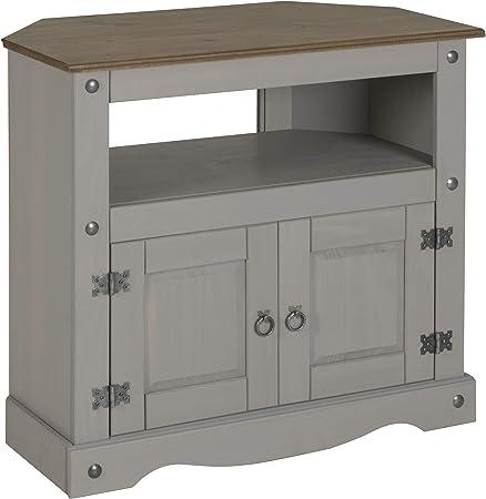 Corona - Mueble esquinero para televisor (tamaño Grande), Color Gris: Amazon.es: Hogar