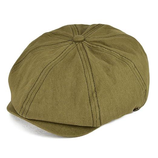 cf2e79395f3 VOBOOM 100% Cotton Newsboy Caps 8 Pannel Cabbie Hat Gatsby Hat 2 Way  BDMZ134 (
