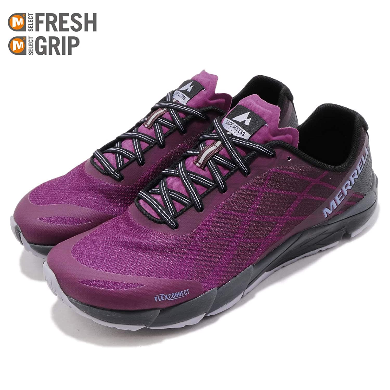 Merrell Womens Shoe Bare Access Flex Purple Hollyhock