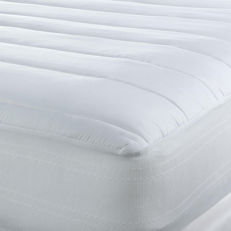 Lujo sealy Regula la temperatura - Pad Colchón Hipoalergénico Tencel de enfriamiento y mezcla de poliéster - fabricado en los Estados Unidos: Amazon.es: ...