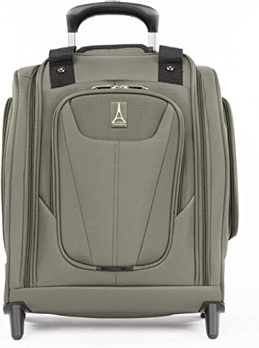 Travelpro Maxlite 5-Rolling Underseat Compact Carry-On Bag, Slate Green, 15-Inch