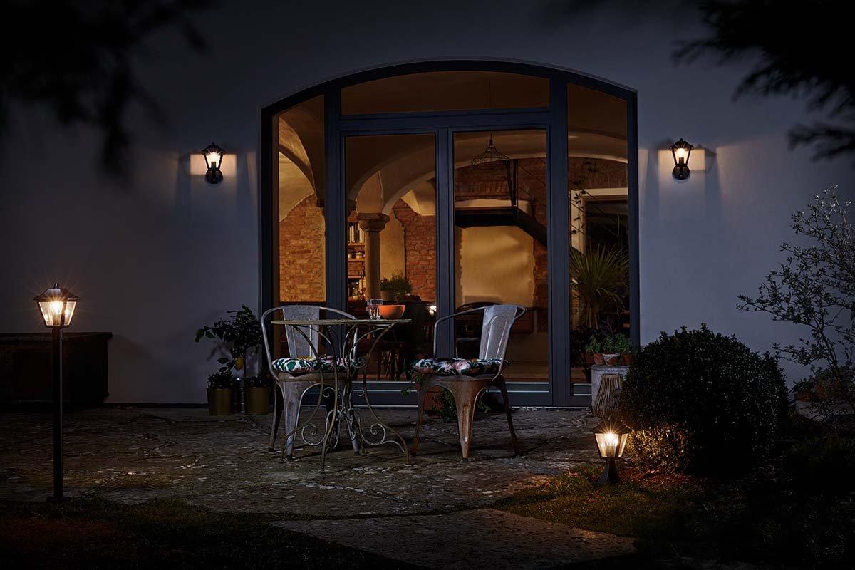 Osram applique extérieure endura classic tradition up ampoule