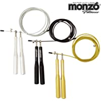 MONZÓ, Cuerda para Saltar Aluminio, Ideal para CROSFIT, Functional Fitness, Box