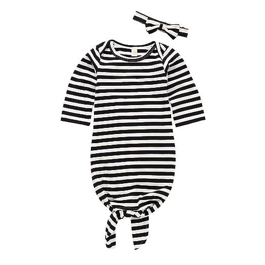 b5881701c Amazon.com  Migler Newnorn Boy Outfits Baby Sleep Sack with Bow ...