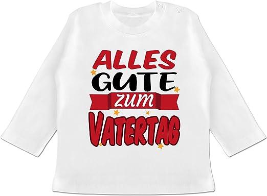 Vatertagsgeschenk Tochter /& Sohn Baby Shirtracer Baby T-Shirt Kurzarm Alles Gute zum ersten Vatertag V1