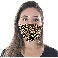 Máscara Divertida Animal Print Onça Pintada - Adulto 914729
