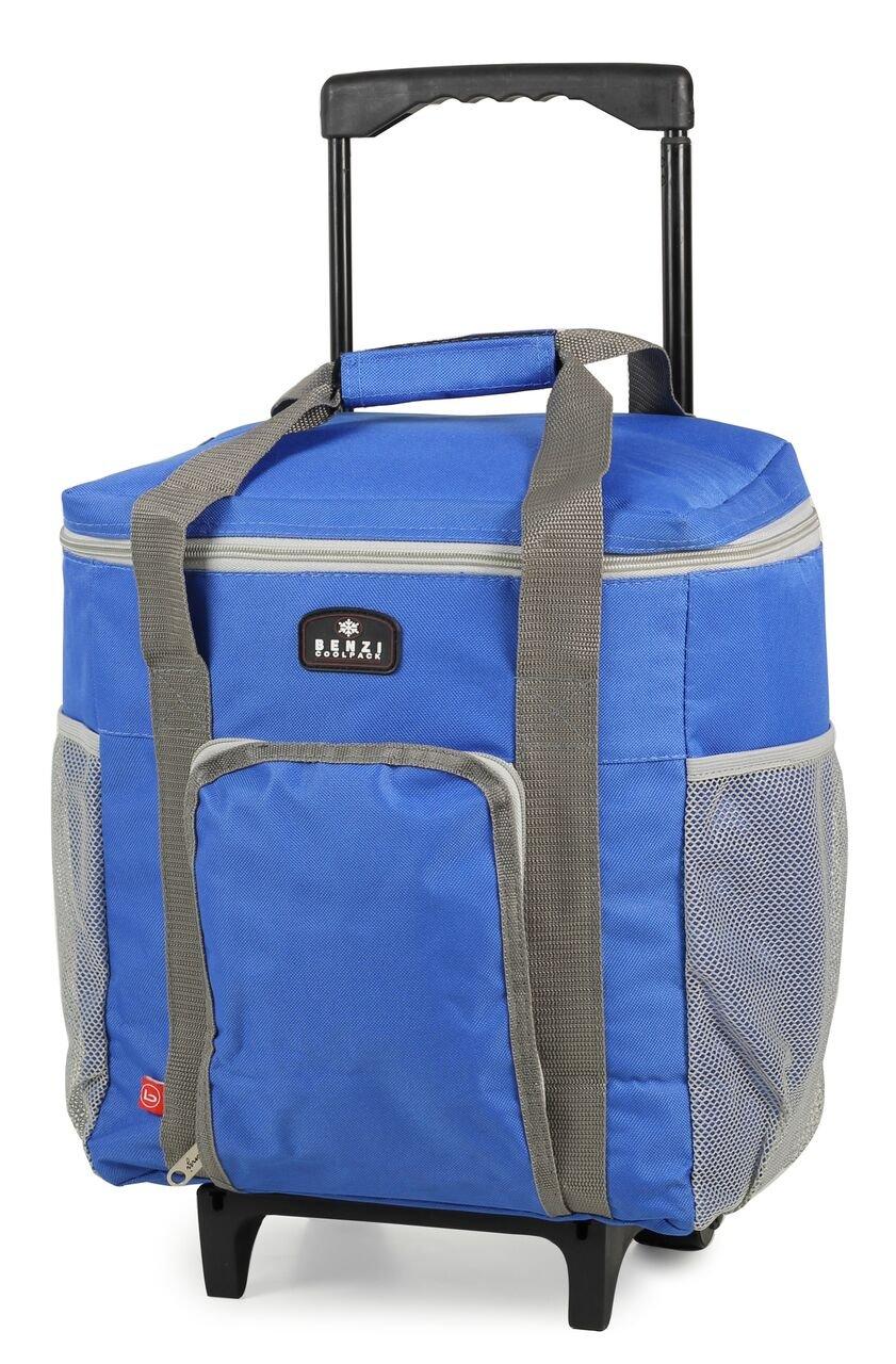 Bolsa de frío (Tamaño Grande, 15 litros de capacidad) Carrito sobre ruedas - Ideal para camping, eventos deportivos: Amazon.es: Jardín