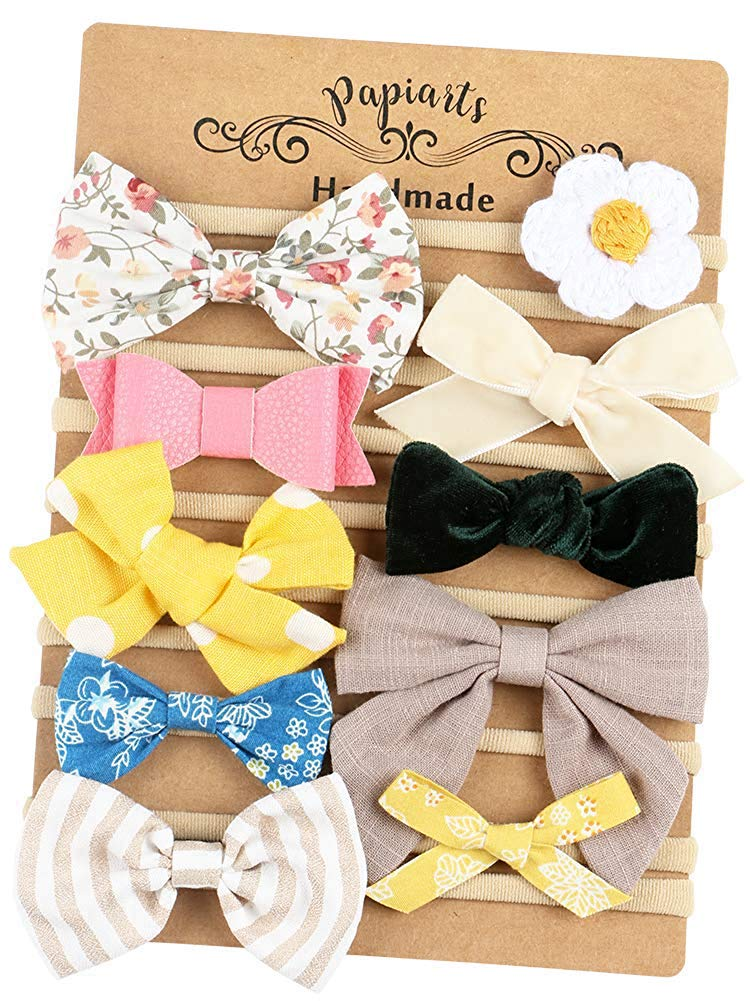 Girl's Accessories Apparel Accessories Strong-Willed Korea Fabric Tie Knot Hair Bands Rabbit Ears Hairband Flower Crown Headbands For Girls Hair Bows Hair Accessories D