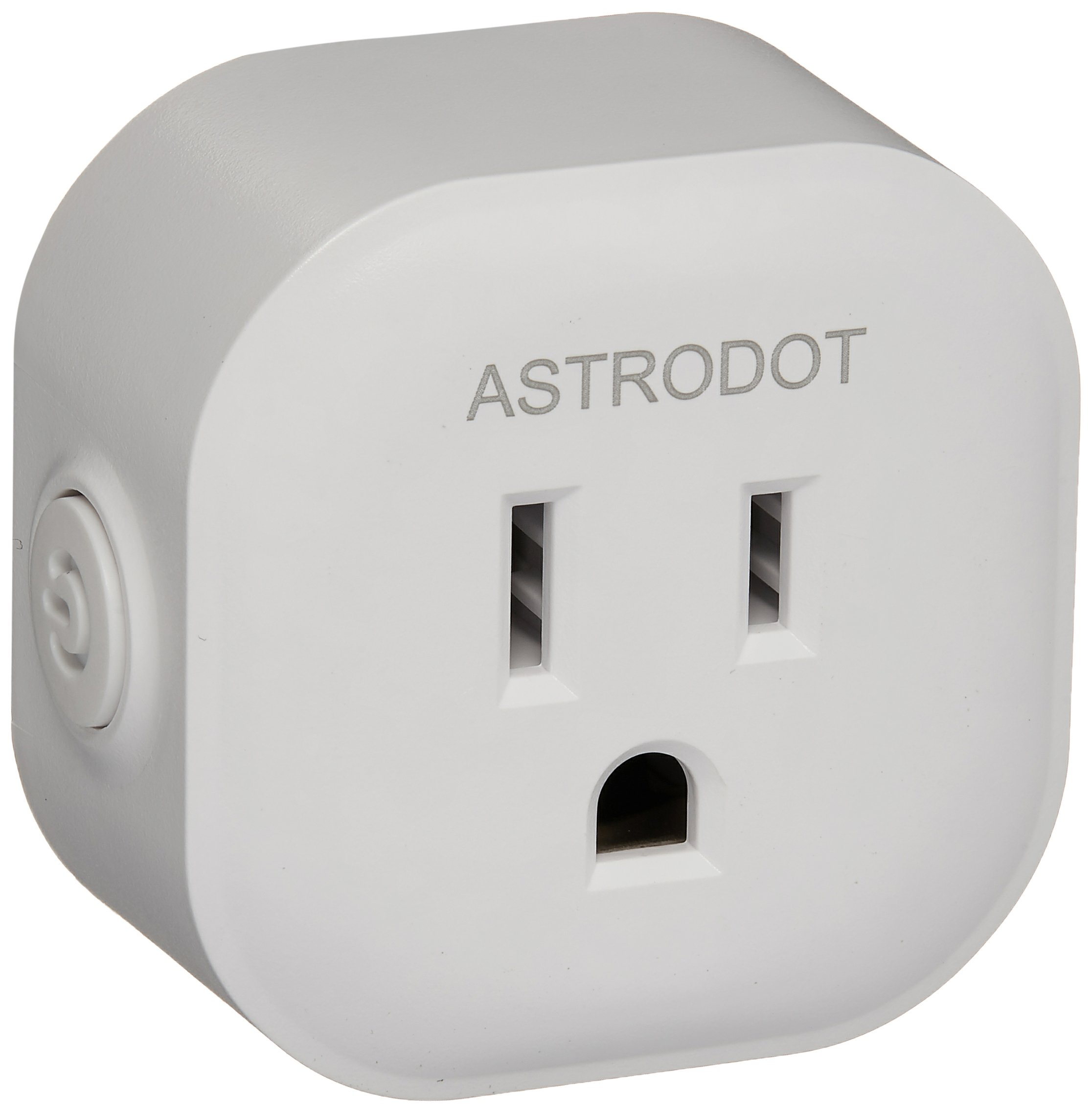 Wifi Smart Plug Mini, Astrodot Smart Home Power Control Socket, Remote Control Your Household Equipment from Everywhere, No Hub Required, Compatible with Alexa, Echo Dot & Google Home (4 Packs) by ASTRODOT (Image #1)