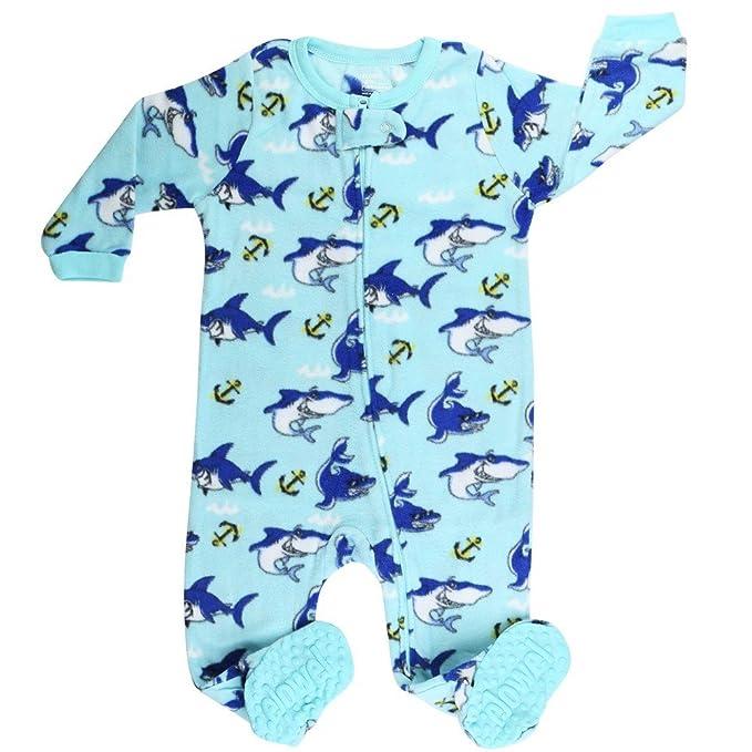 Elowel - Pijama para Bebe Nino, (Talla 6 m-5 Anos),