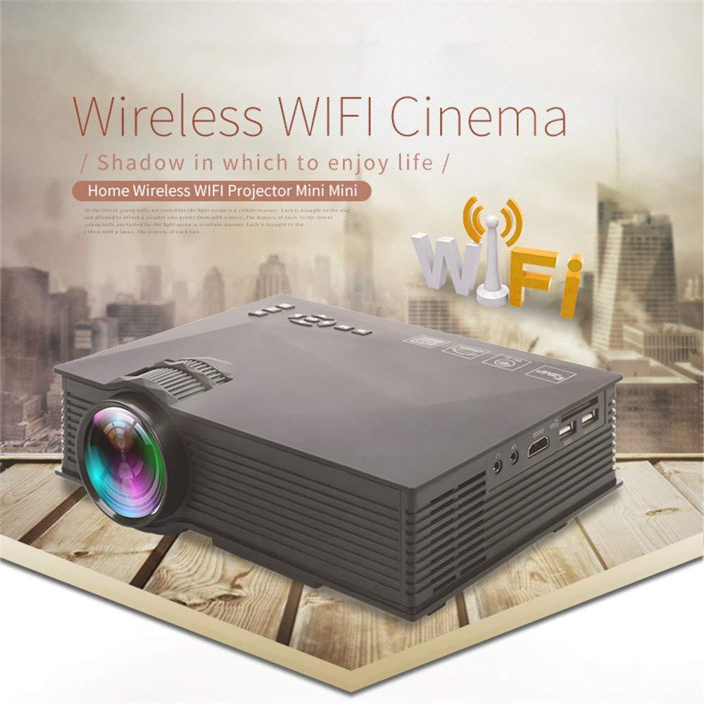 Xianxian88 Mini proyector LED-Bemaxy UC46 Portable 1200 lúmenes ...