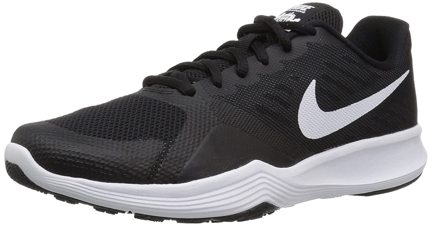 NIKE Women's City Cross Trainer B01MY0NUBO 9 B(M) US|Black/White