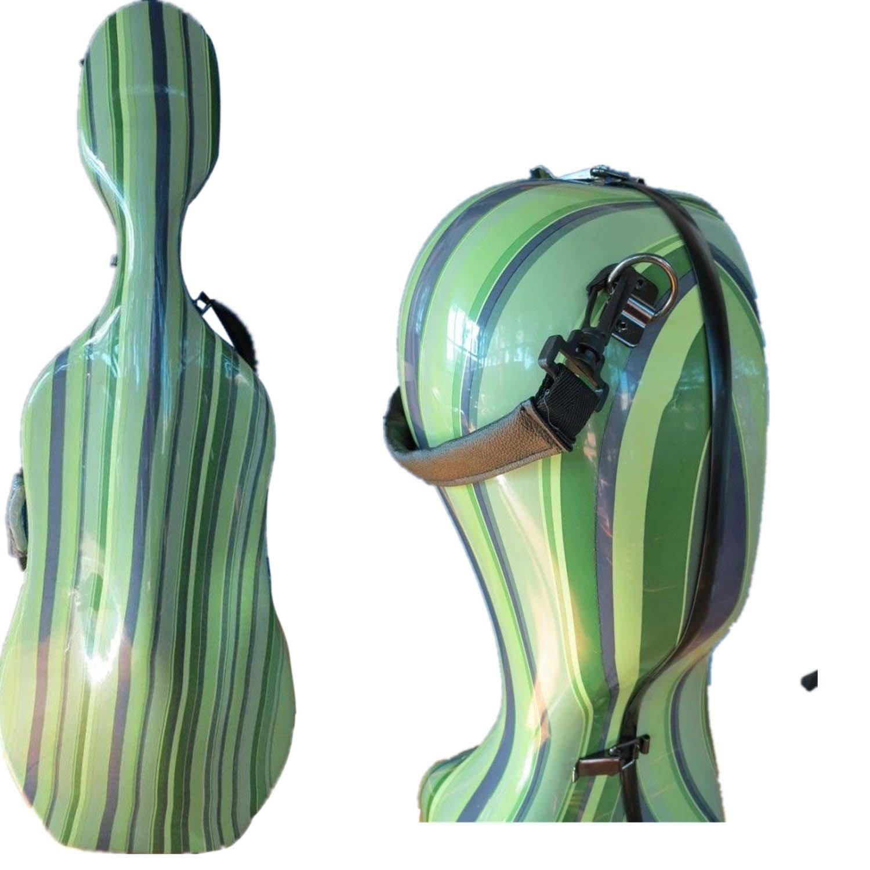 Amazon 44 size hard carbon fiber cello case with back amazon 44 size hard carbon fiber cello case with back shoulder straps wheels everything else reviewsmspy