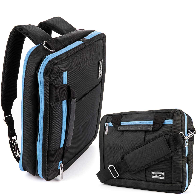 29c6f68177f9 Amazon.com: 13.3 14 Inch Laptop Messenger Shoulder Bag Backpack Fit ...