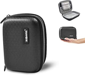 Travel Cable Organizer Bag Portable – 6.7 Inch Hard Drive Case, Shockproof Electronics Organizer Phone Charger Earbuds Cord Case Pouch Fits Anker 10000mAh 13000mAh Power Bank