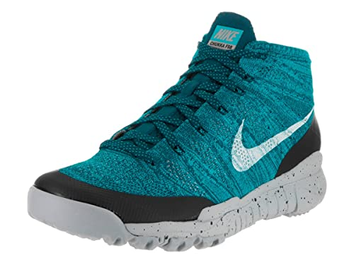 ef3b67598daa9 Nike Men s Flyknit Trainer Chukka Fsb Sqdrn Bl SMMT Wht N TRQ Drk Ob  Training Shoe 10. 5 Men US  Buy Online at Low Prices in India - Amazon.in